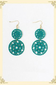 getting into these lace earrings.  are they only casual?