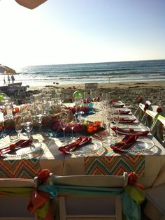 Guests and members can through their own unique beach party at the La Jolla Beach & Tennis Club.