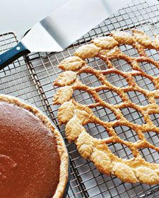 Maple Pumpkin Pie with Leaf Lattice | Martha Stewart Recipes