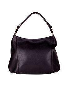 Single strap slouch top shoulder bag