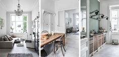 Una vivienda clásica en el centro de Copenhage - http://www.decoora.com/una-vivienda-clasica-centro-copenhage/