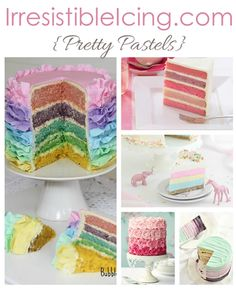 Irresistible Icing - Pretty Pastels