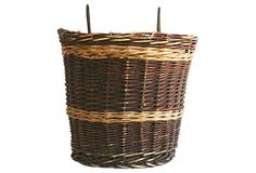 French Handwoven Basket on OneKingsLane.com  Great harvest basket for over the fence!  On sale today
