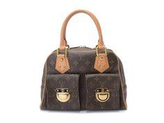 Louis Vuitton Monogram Manhattan PM M40026 Hand Bag #LouisVuitton #Handbag