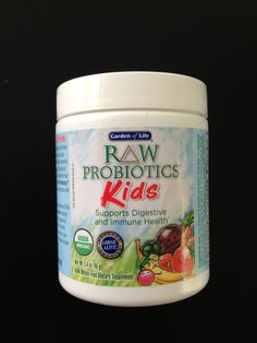 Probiotics aren't just for adults. It is important for children starting at three months old