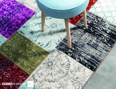 A wonderful patchwork rug to add colour and pattern to a room. Inspired by the Persian trend of sewing areas of different rugs together to create a new and exciting product. Patchwork Patterns, Patchwork Rugs, Trellis Rug, Sheepskin Rug, Geometric Rug, Traditional Rugs, Modern Rugs, Cool Rugs, Persian Rug