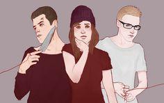 Josh, ash, Chris