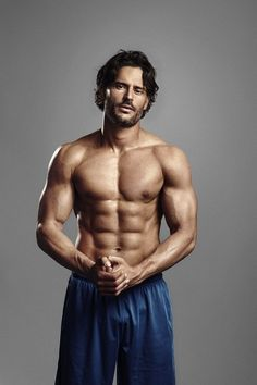 A whole page devoted to Joe Manganiello's growth <3