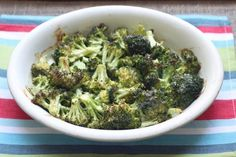 Cheesy Ranch Roasted Broccoli – Low Carb and Gluten Free Recipe Side Dishes with broccoli florets, ranch dressing, sharp cheddar cheese, heavy whipping cream, kosher salt, pepper