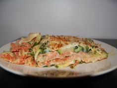 Lasagnes courgettes tomate poulet pour 5pts ww, Recette Ptitchef