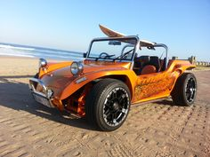 beach buggy airbrush