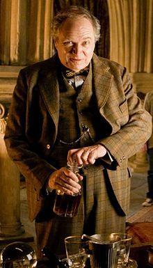 Professor Horace Slughorn, played by Jim Broadbent.