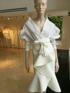 White Crop Top Outfit, Crop Top Outfits, White Outfits, Fashion Beauty, Womens Fashion, All About Fashion, White Fashion, I Dress, Brunch
