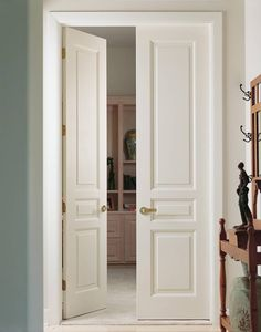 Elegant 3 Panel Solid MDF Residential Doors By Supa Door Design Inspirations