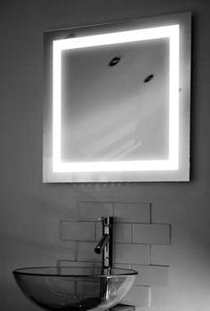 "Lux LED Backlit Mirror 24""x24"""