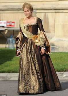In good company: Jonathan Pryce is to play Cardinal Wolsey, Anton Lesser as Sir Thomas More, with Claire Foy as Anne Boleyn Renaissance Costume, Renaissance Dresses, Medieval Dress, Renaissance Fashion, Tudor Costumes, Period Costumes, Theatre Costumes, Movie Costumes, Costumes 2015