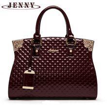 Nový luxusní Ražba Ženy Crossbody taška originální patent kožené kabelky  fashion taška přes rameno brašna módní 6072d3da4d9