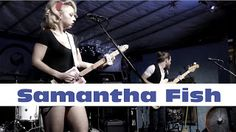 Natallica on her drums terra fermata in stuart fl for Samantha fish chills and fever