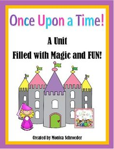 This file is a 53 page down load that will walk you through introducing fairy tale elements and sharing much loved fairy tales with your class.  Included you will find: Once Upon a Classroom book list Guess that Fairy Tale cards and 2 response sheets. 3 sheets of Fairy Tale Elements cards At home Guess that Fairy Tale activity  $9.99