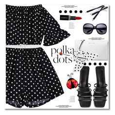 """So dotty"" by paculi ❤ liked on Polyvore featuring Michael Kors, Namrata Joshipura, Smashbox, Ermanno Scervino and PolkaDots"