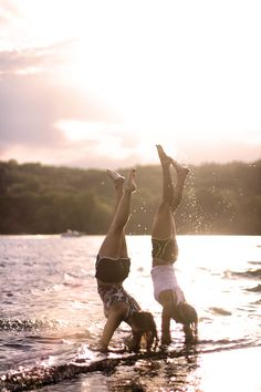 Do a handstand and take a picture!