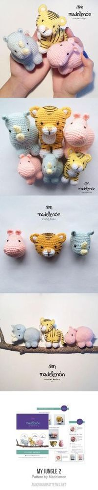 My Jungle 2 amigurumi pattern by Madelenon