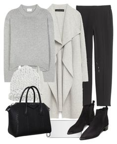 """""""Untitled #11049"""" by minimalmanhattan ❤ liked on Polyvore featuring J.Crew, Zara, Zero Gravity, Acne Studios, Givenchy, women's clothing, women, female, woman and misses"""
