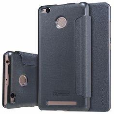 NILLKIN Sparkle flip cover PU Leather hard plastic back cover phone case for xiaomi redmi 3s&pro 5 inch for redmi 3s&pro