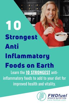 With so many health foods out there its hard to figure out what the top anti inflammatory foods are. This post not only outlines the top 10 anti inflammatory foods but includes a anti inflammatory foods list printable to use for easy reference. Click through to reduce inflammation now. #guthealth #inflammation #cleanfoods #healthyliving Holistic Nutrition, Nutrition Tips, Health Foods, Gut Health, Natural Protein Shakes, Anti Inflammatory Foods List, Athletes Diet, Detox Your Body, Leaky Gut