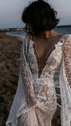 Maxi Dress Wedding, Perfect Wedding Dress, Bridal Dresses, Wedding Gowns, Backless Maxi Dresses, White Maxi Dresses, Maxi Dress With Sleeves, The Dress, Dress Wedding
