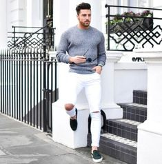 modatrends: Taste of spring. Gents Fashion, New Fashion, Business Casual Men, Men Casual, Summer Fashion Outfits, Cool Outfits, Gentleman's Wardrobe, Trends Magazine, Men With Street Style