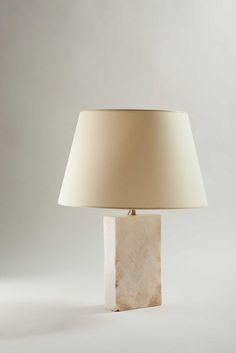 "Jean-Michel Frank, 'Table lamp ""Block"" model,' ca. 1925, Galerie Anne-Sophie Duval"