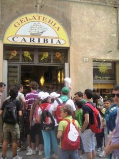 we went here for gelato and smoothies EVERY DAY