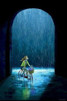 Yaoyao ma van as anime art, digital art, dream illustration, digital illustration, Art And Illustration, Art Illustrations, Funny Art, Anime Art Girl, Love Art, Cartoon Art, Amazing Art, Fantasy Art, Concept Art
