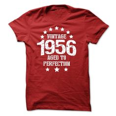 cool VINTAGE 1956 Aged To Perfection T-shirt and Hoodie  Birth years shirt