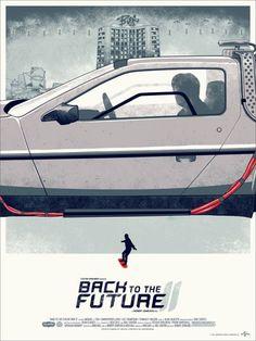 Un superbe triptyque des affiches de « Retour Vers le Futur » | golem13 |