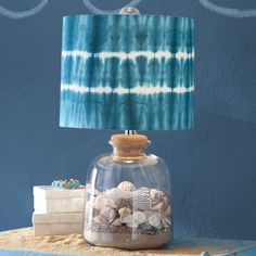 THIS LAMP IS SO COOL! I love the ocean!