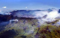 Mount Tambora in Indonesië