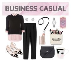 """""""Business Casual"""" by angelarmoyer ❤ liked on Polyvore featuring Dorothy Perkins, Kate Spade, Vera Bradley, Rolex and Fresh"""