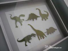 mod paperie: My son's dinosaur room.