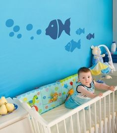 Baby Room Designs: Blue Baby Room Decorating Ideas For Baby Boy: Cute and Pretty for Baby's Room Designs