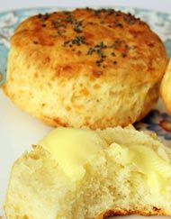 Cheese Scones - General Recipe from I Love Baking SA Our signature bookmark derived from the de Youn Healthy Baking, Easy Healthy Recipes, Gourmet Recipes, Baking Recipes, Dessert Recipes, Desserts, Scone Recipes, Dessert Food, Potluck Food