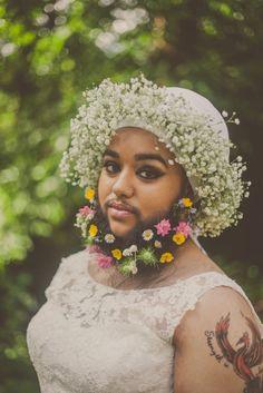 Bearded Lady Harnaam Kaur Redefines Beauty In Stunning Bridal Photoshoot