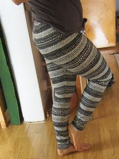 Leggins made by me, fabric Ommellinen Lacepath