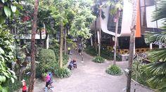 Cihampelas Walk, shopping mall in Bandung.