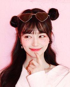 Korean Cute Makeup Tutorial - K-Beauty Inspiration Korean Makeup Look, Korean Makeup Tips, Korean Makeup Tutorials, Asian Makeup, Fitness Workouts, Cute Makeup, Makeup Looks, Clown Makeup, Costume Makeup