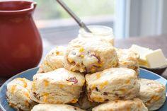 Bacon Cheddar Buttermilk Biscuits-3