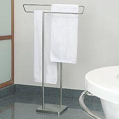 Freestanding Towel Rail - Stainless Steel