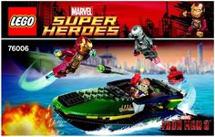 Marvel Super Heros - Iron Man (TM): Extremis (TM) Sea Port Battle [Lego 76006]