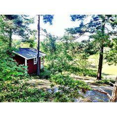 Na, wem von euch würde dieses schnuckelige Ferienhäuschen auf der Stockholmer Schäreninsel Gällnö auch reichen?
